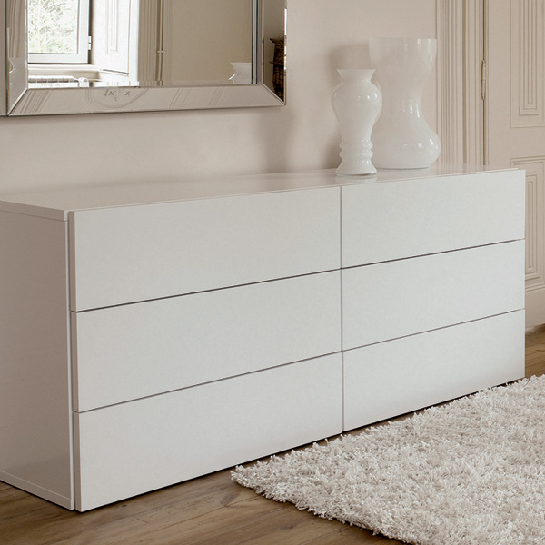 Aurora 6 Drawer Dresser