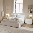 Aurora Queen Bed with 2 Night Tables