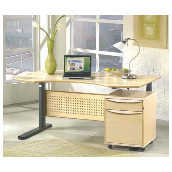 Medium Sit Stand Hydraulic Height Adjusting Desk - UNIQ-7160100-XX