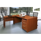 Pro X Executive Desk with Return and Mobile Pedestal