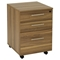 Pro X 48-Inch Desk and Hutch Set with Mobile Pedestal - uniq-PRO-X-COMBO-1