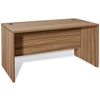 Pro X 63'' Manager's Desk - Modesty Panel, Walnut