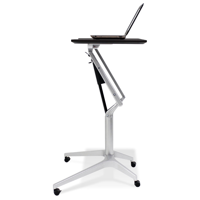 Adjustable Height Laptop Stand - Black