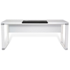Pure Office 71'' Executive Desk - White Lacquer