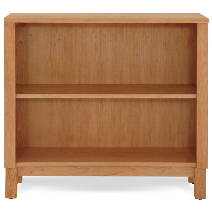 Timberland Low Bookcase in Cherry