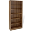 Pro X Tall Bookcase - Adjustable Shelves, Walnut