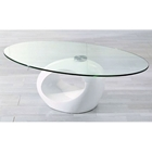 Rothwell Coffee Table with Glass Top
