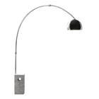 Synclair Floor Lamp with Dome Shade