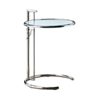 Talwyn Round Glass Top Side Table
