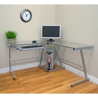 3 Piece Contemporary Desk Walker Edison 3 Piece Contemporary Desk D51L29, computer desk