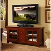 52 Inch TV Stand with Drawers in Brown