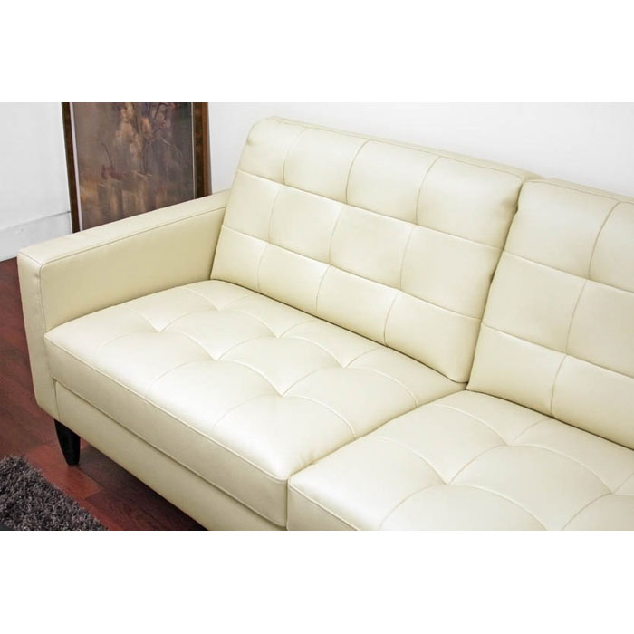 Caledonia Tufted Leather Sofa Set - WI-1197-2SEATER-3SEATER-X