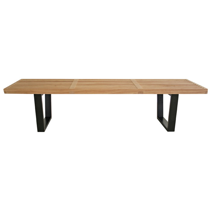 Nelson Style 5' Wooden Bench