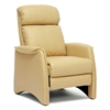 Aberfeld Modern Recliner Club Chair - Honey Tan