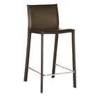 Berlin Brown Modern Bar Stool