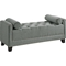 Hirst Platform Bed - Button Tufted, Bench - WI-BBT6377-BBT5160-BENCH