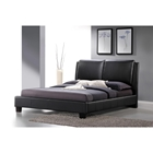 Sabrina Full Platform Bed - Black