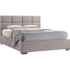 Sophie Upholstered Platform Bed - Tufted