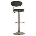 Stile Adjustable Swivel Bar Stool - Black