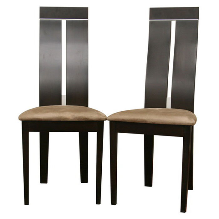 Magness Wenge Modern Dining Chair