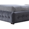 Margaret Queen Platform Bed - Button Tufted, Gray - WI-CF8538-GRAY-BED