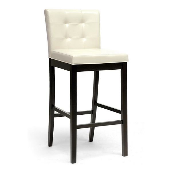Prospect 31'' Transitional Bar Stool - Tufted, Cream