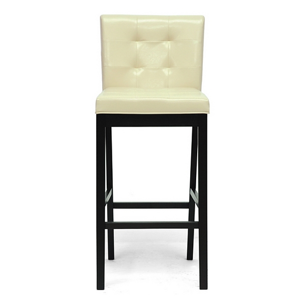 Prospect 31'' Transitional Bar Stool - Tufted, Cream - WI-CH4-CREAM-PSTL