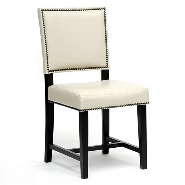 Nottingham Dining Chair - Nail Heads, Cream