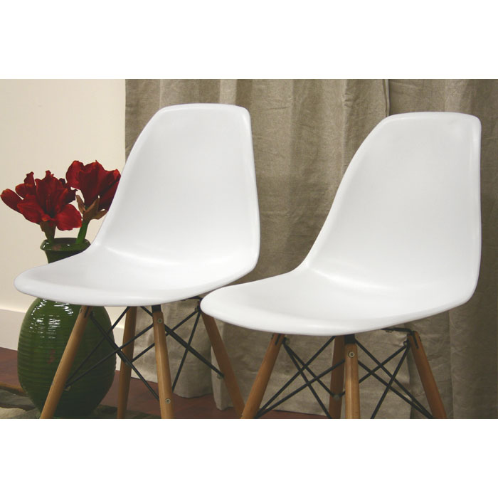 Azzo Plastic Side Chair - WI-DC-231A