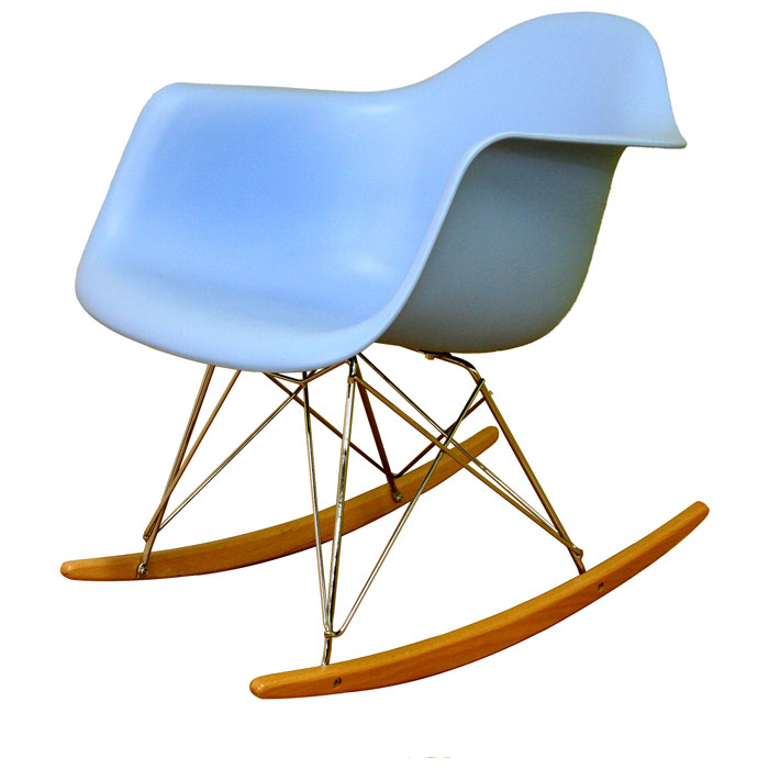 Terry Plastic Rocking Chair - WI-DC-311W-X
