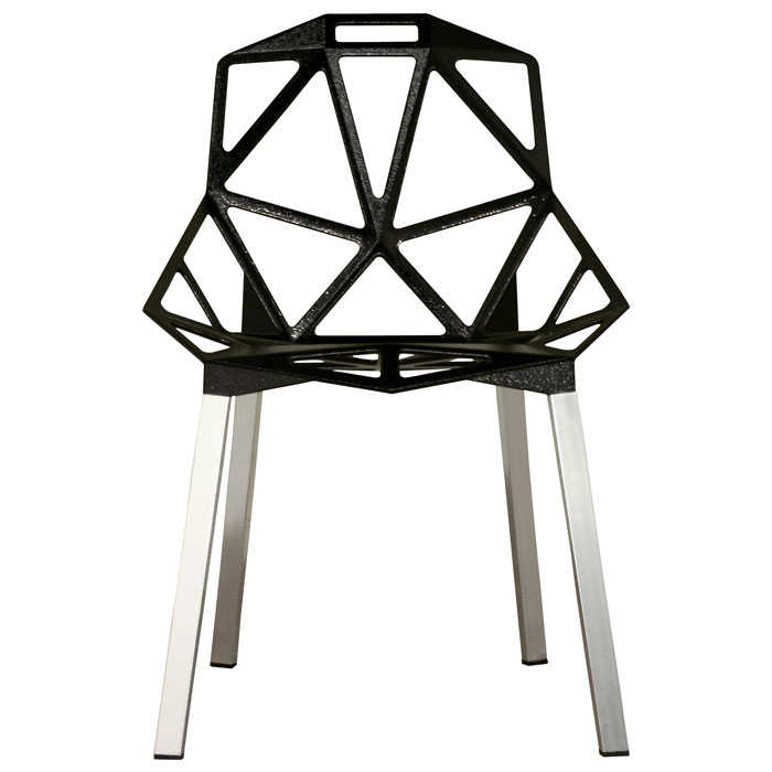 Kaysa Black Dining Chair