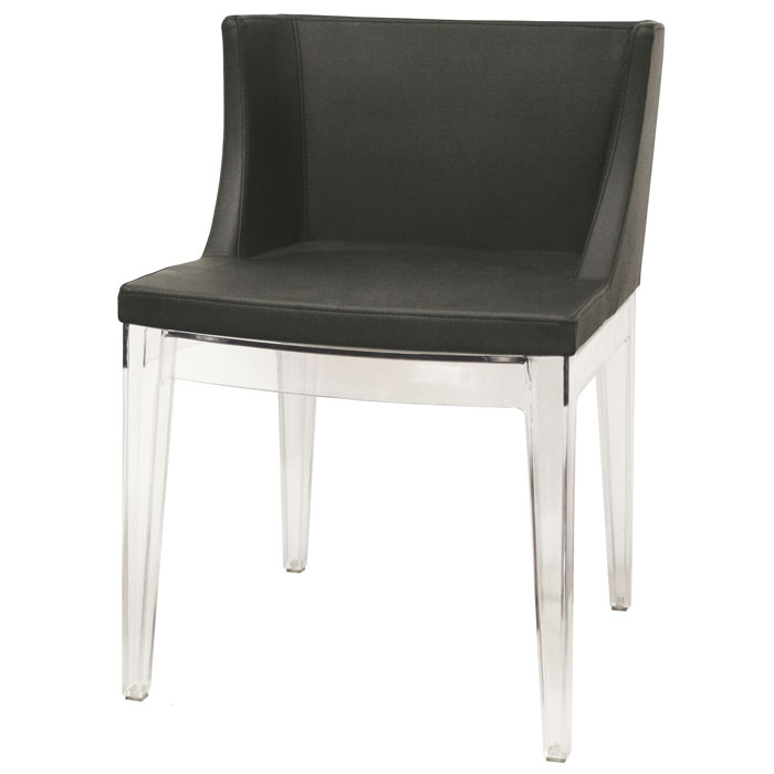 Fiore Black Dining Chair