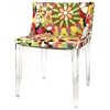 Fiore Floral Acrylic Chair
