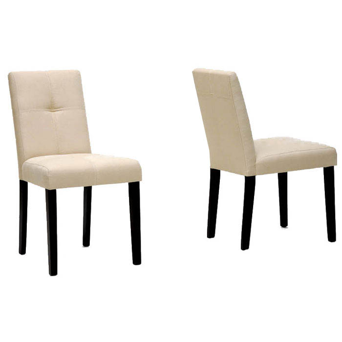 Elsa Beige Fabric Dining Chair