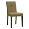 Elsa Dining Chair - Taupe Brown Fabric, Dark Brown Legs - WI-ELSA-DINING-CHAIR-107-662-TAUPE