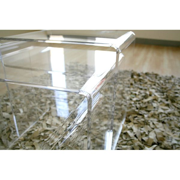 Clear Acrylic Nesting Tables - WI-FAY-510
