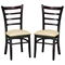 Lanark Dining Chair with Taupe Microfiber Seat - WI-LILY-DC-107-309
