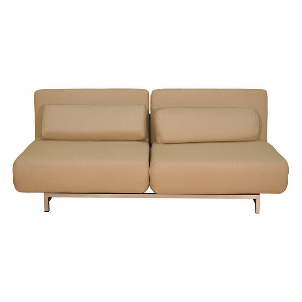 Elona Contemporary Convertible Sofa - Cream - WI-LK06-2-D-02-CREAM