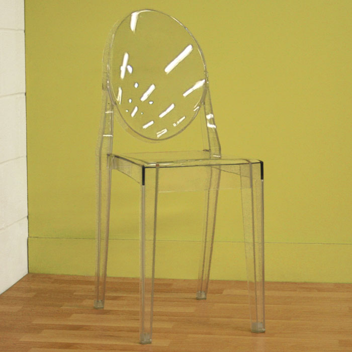 Dreama Modern Acrylic Ghost Chair - WI-PC-448-X