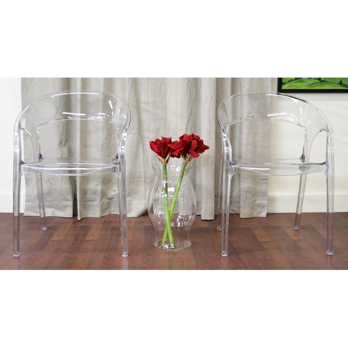 Chole Acrylic Clear Chair - WI-PC-510