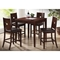 London 5 Piece Wooden Pub Table Set - WI-RT170-5PC