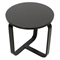 Avila Modern Round End Table - Wenge, Bentwood Legs - WI-ST615-WENGE-AT
