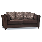 Rachelle Contemporary Chenille Sofa