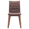 Orebro Dining Chair - Tufted, Tobacco