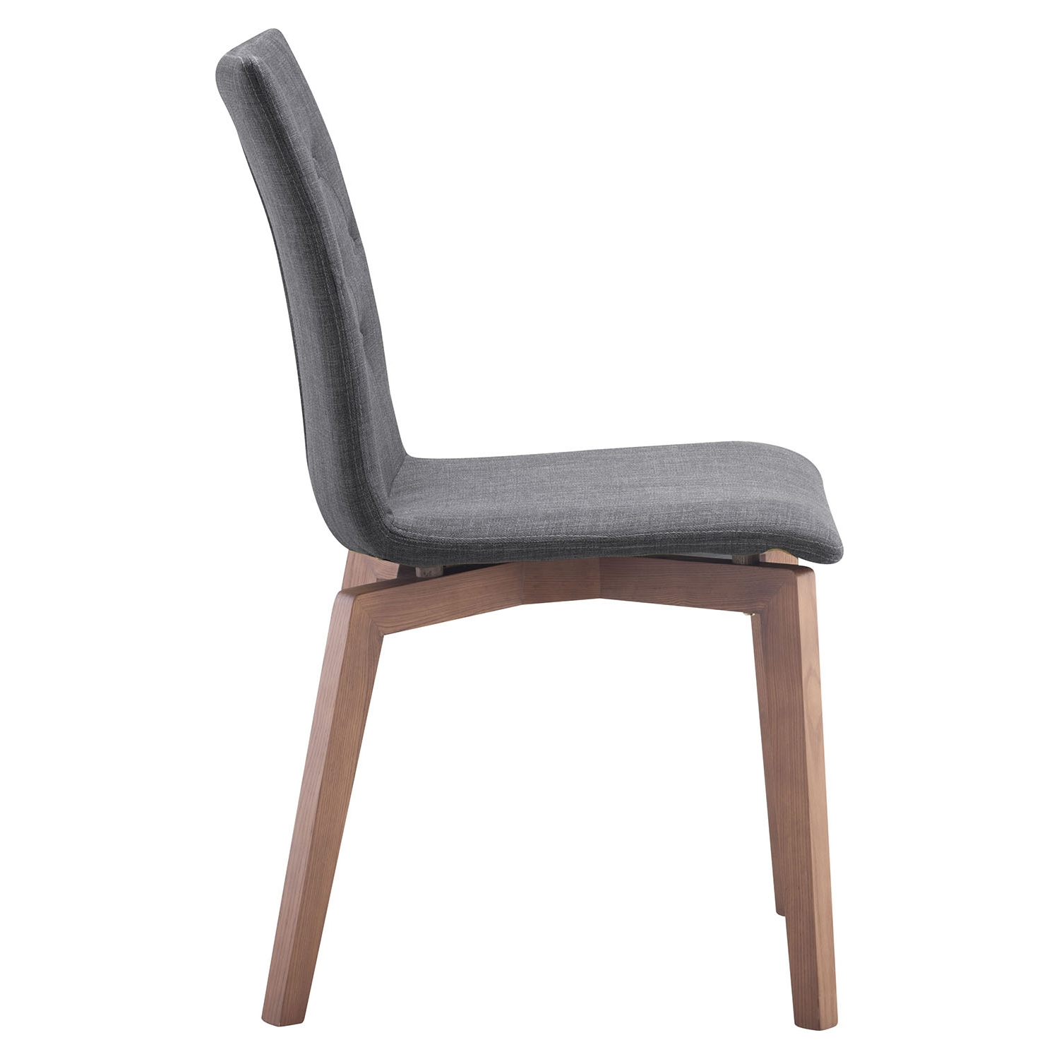 Orebro Dining Chair - Tufted, Graphite - ZM-100071