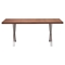 Renmen Walnut Dining Table - ZM-100086