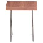 Renmen Walnut Side Table
