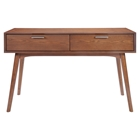 Design District Walnut Console Table