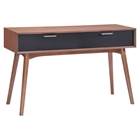 Liberty City Console Table - Walnut