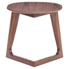 Park West Walnut Side Table